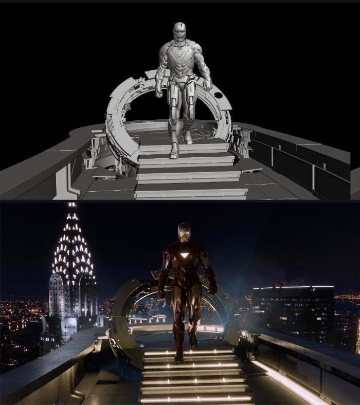 Вот так выглядят фильмы до и после спецэффектов (30 фото)