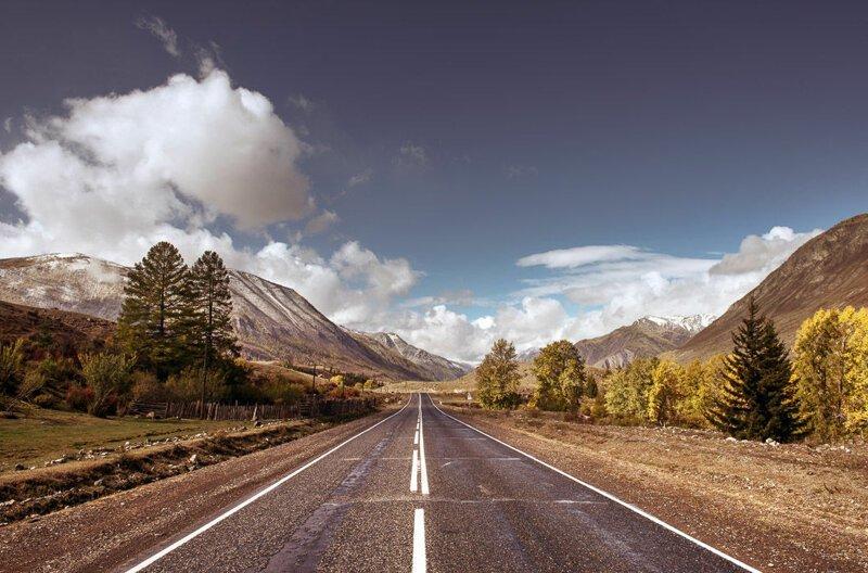 Самые красивые дороги России (11фото)