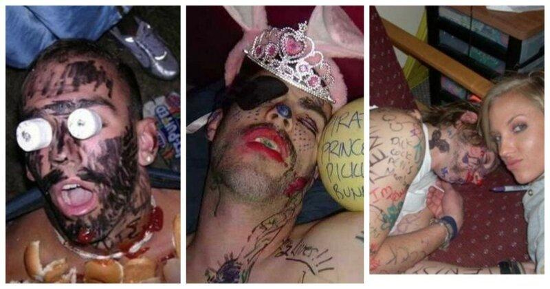 20 людей, которых угораздило выпить и заснуть в креативном коллективе (21фото)