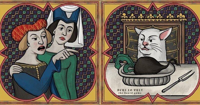 Как выглядели бы мемы в Средневековье (21фото)