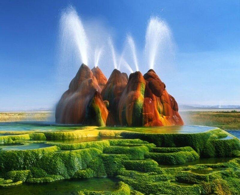 15 мест на земле, которые кажутся фантастическими пейзажами с других планет (16фото)