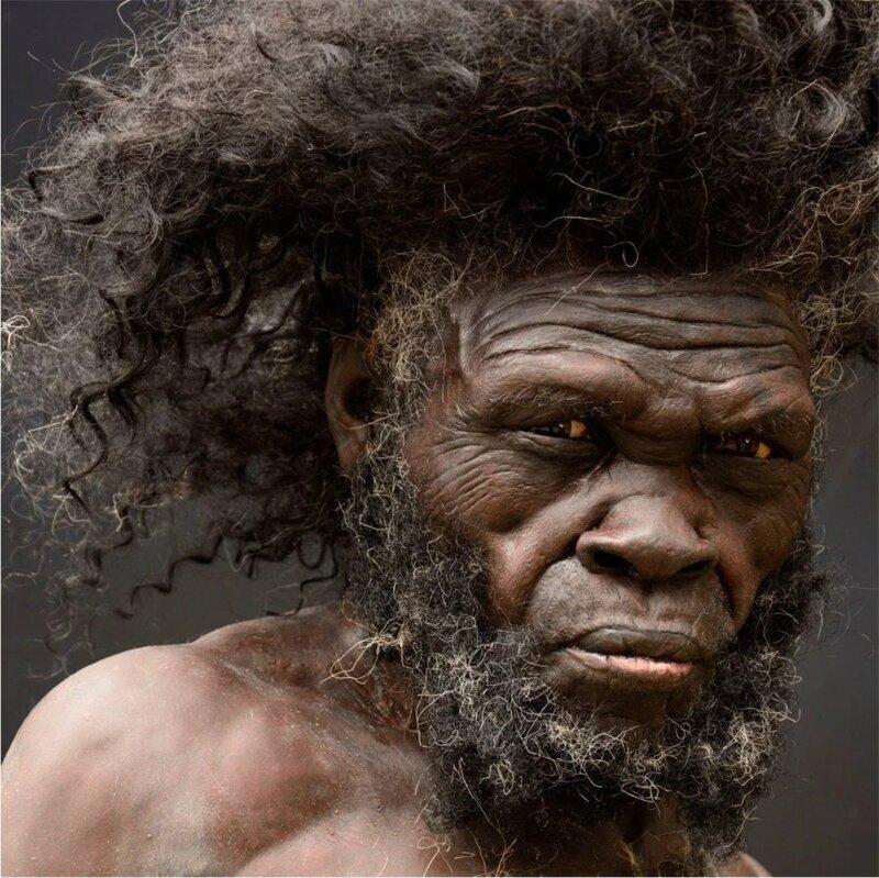 Как выглядели древние люди? (19фото)