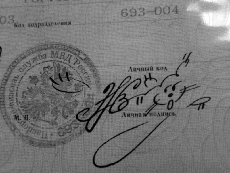 30 шедевральных подписей на документах (33фото)