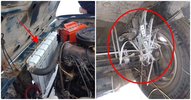 15 убойных случаев на СТО, которые поражают даже бывалых автомехаников (16фото)