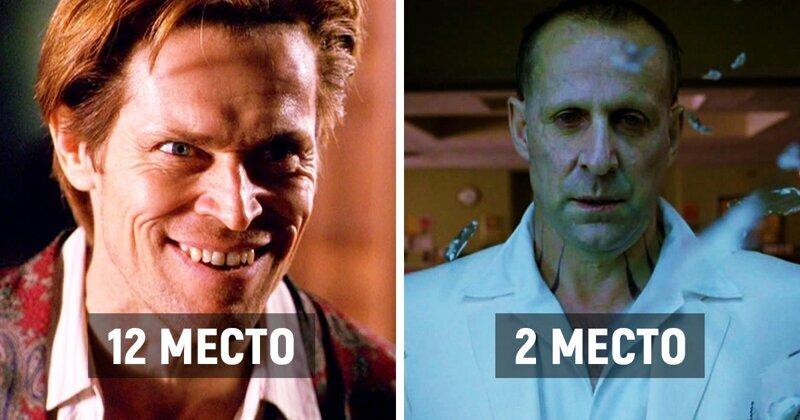 Кто из актеров больше всего сыграл отрицательных ролей (13фото)