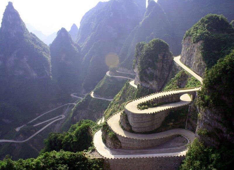 Самые опасные дороги мира (8фото)