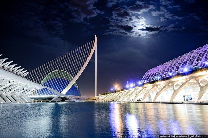 Город искусств и наук в Валенсии (25фото)