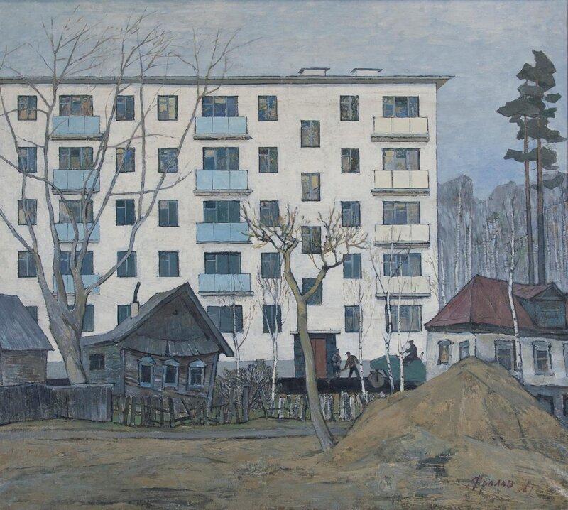 Советская повседневность в картинах (32фото)
