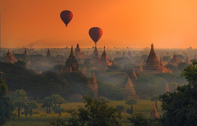 10 фотографий Мьянмы, от которых захватывает дух (10фото)