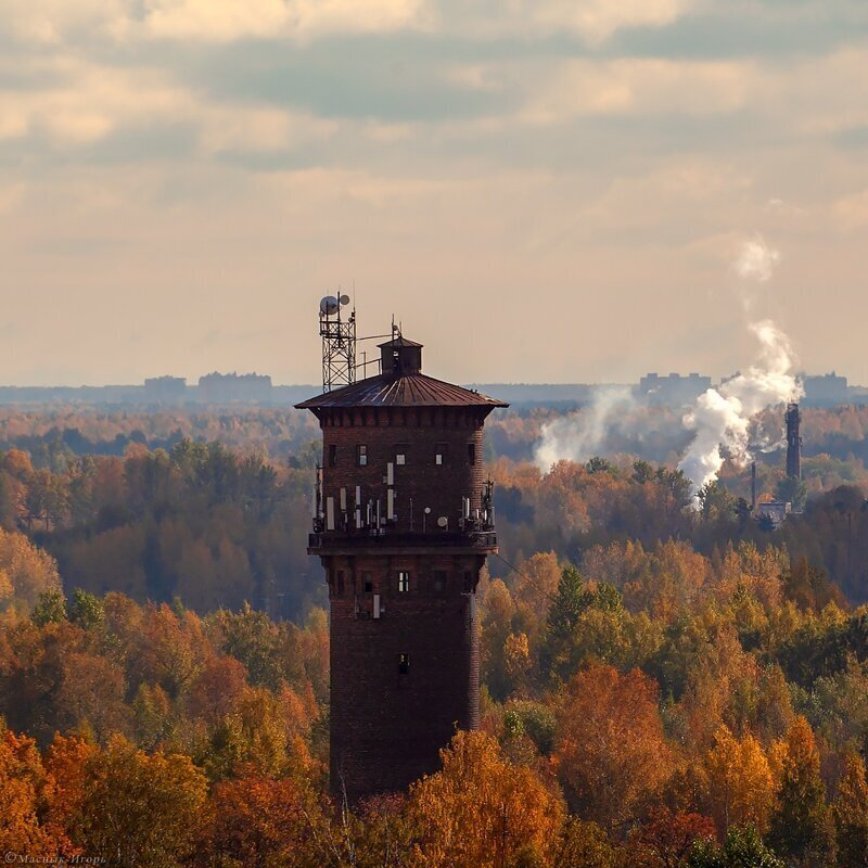 Красота водонапорных башен (41фото)