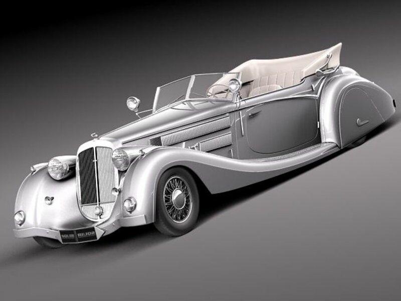 На мой вкус самые элегантные ретро автомобили (39фото)