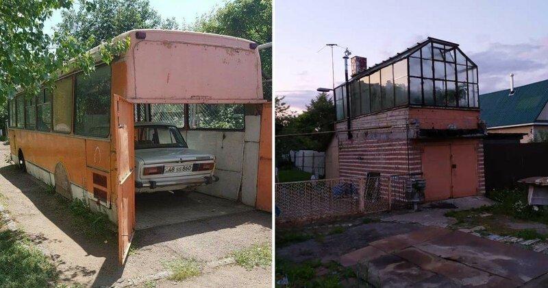 У настоящего мужика может не быть любовницы, но гараж обязательно должен быть (17фото)