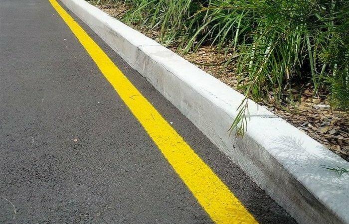 Зачем нужна желтая разметка на дорогах (5фото)
