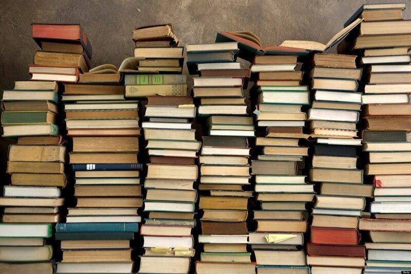 Самые потрясающие факты о книгах (1фото)