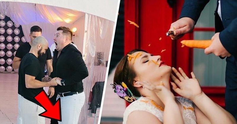 И конкурсы интересные, или когда взял кредит на свадьбу, чтобы унизить гостей (21фото)