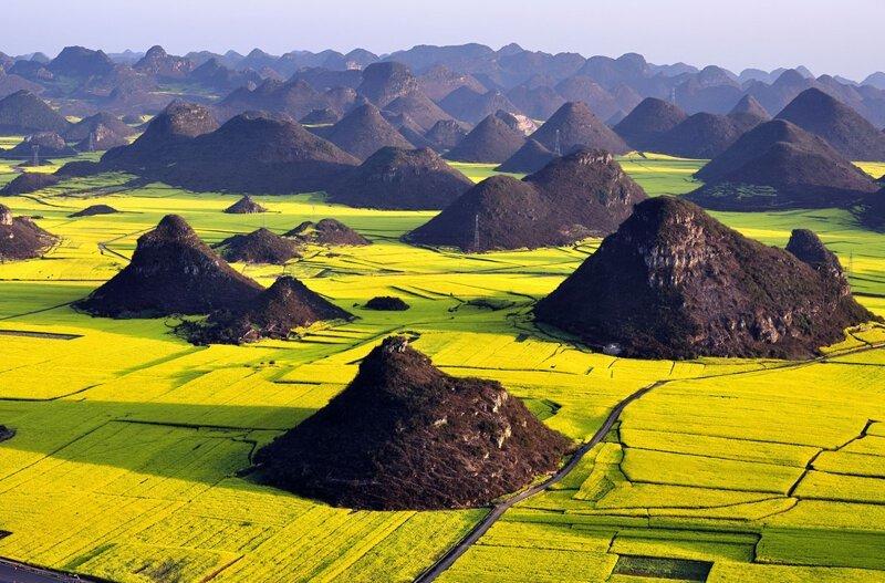 Великолепный вид на Китай с высоты птичьего полёта. ч2 (20фото)