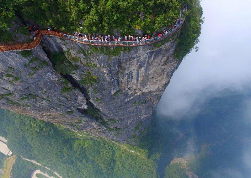 Великолепный вид на Китай с высоты птичьего полёта. 1ч (17фото)