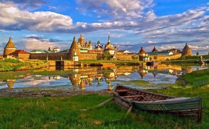 7 захватывающих русских островных крепостей (7фото)