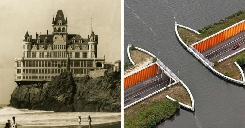 14 непопсовых сооружений, способных удивить необычными архитектурными решениями (16фото)