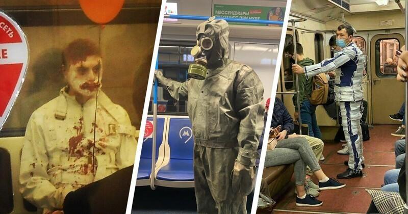 Модники московского метро. Осторожно, в подборке может быть ваша фотокарточка (21фото)