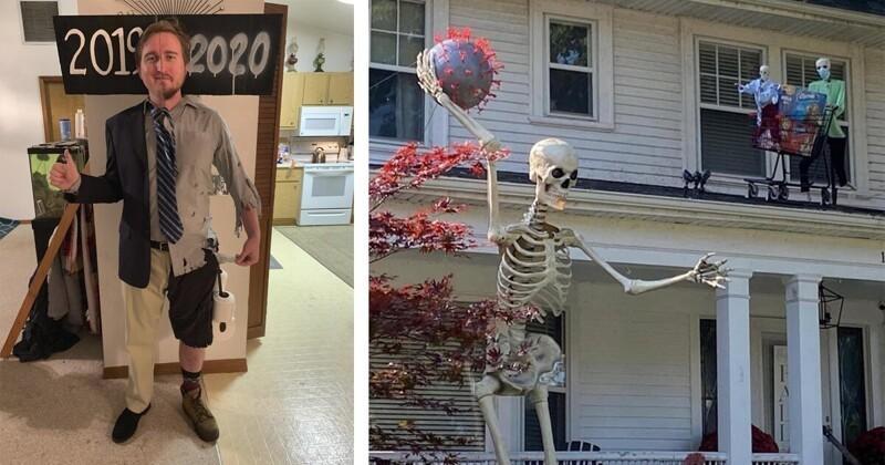 Коронавирусный Хэллоуин 2020, который станет самым необычным за всю его историю (16фото)