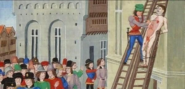 Пятнадцать самых бесчеловечных способов казни в истории (15фото)