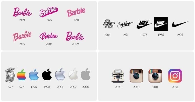 Было и стало: эволюция известных брендов и старые логотипы, которые не все вспомнят (10фото)