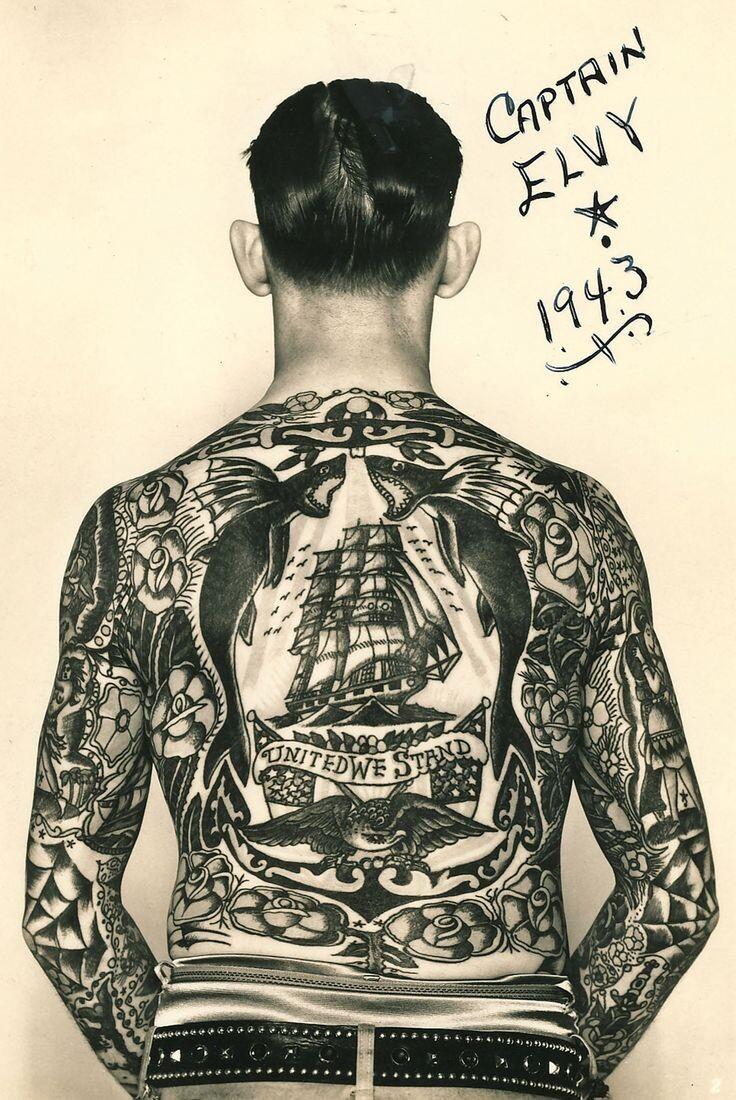 Что означают моряцкие татуировки (27фото)