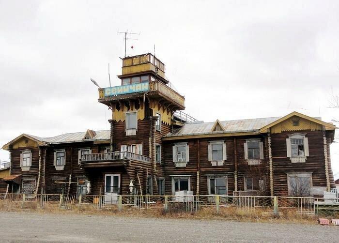 Деревянные аэропорты России, большинство из которых до сих пор функционирует (14фото)