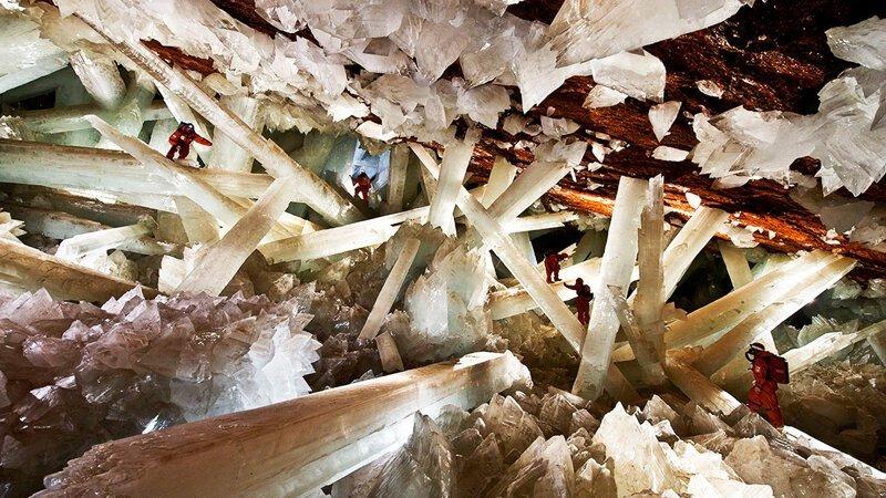 Самые удивительные пещеры мира (10фото)