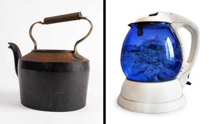Бытовые предметы тогда и сейчас (22фото)