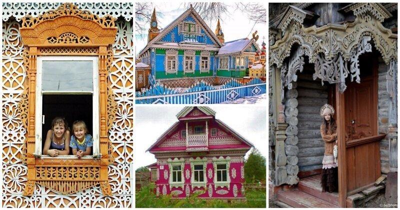 Сказочные русские домики, которые создадут вам праздничное настроение (28фото)