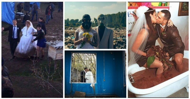 Мир в труху, они гуляют: свадьбы на фоне апокалипсиса (21фото)