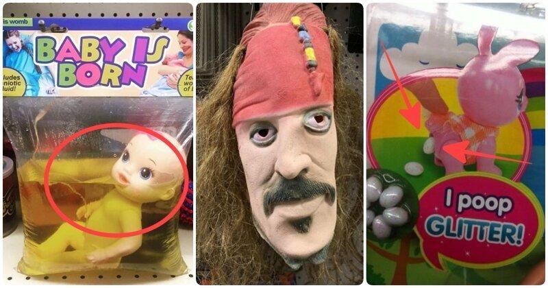 Ужасные детские игрушки, от которых страдает психика не только ребенка, но и родителя (20фото)