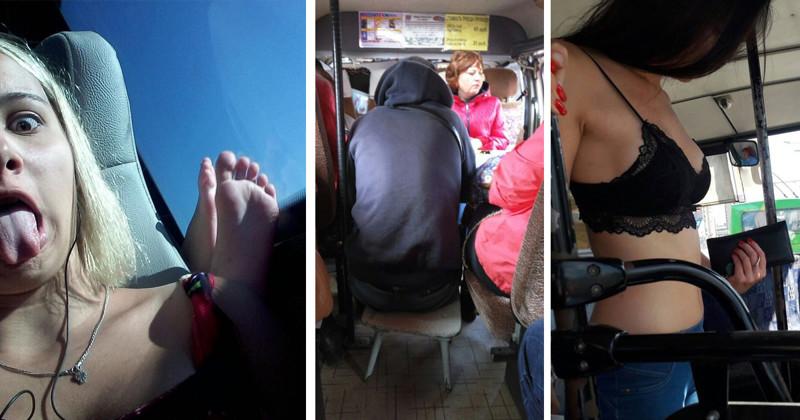 Пост, после просмотра которого вы навсегда откажетесь от общественного транспорта (28фото)