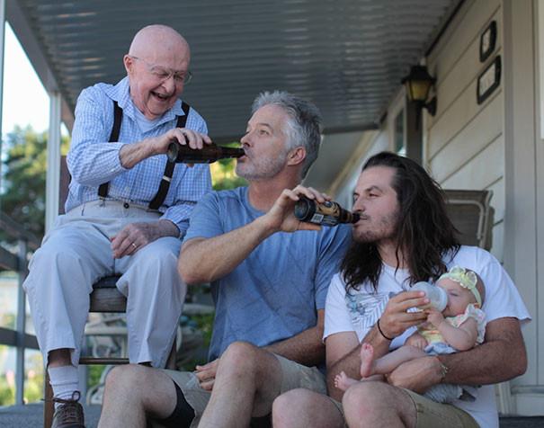 Чудесные семейные фотографии, на которые нельзя смотреть без улыбки (42фото)