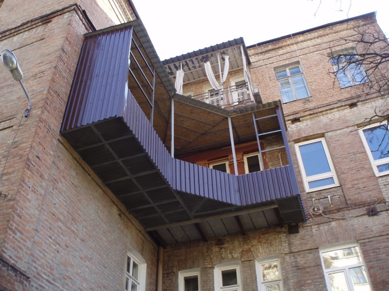Шедевры балконостроения (27фото)