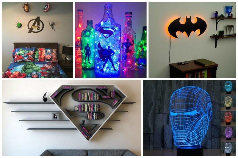Супергерои в детской комнате (30фото)
