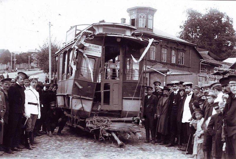 Трамвайные аварии в СССР (19фото)