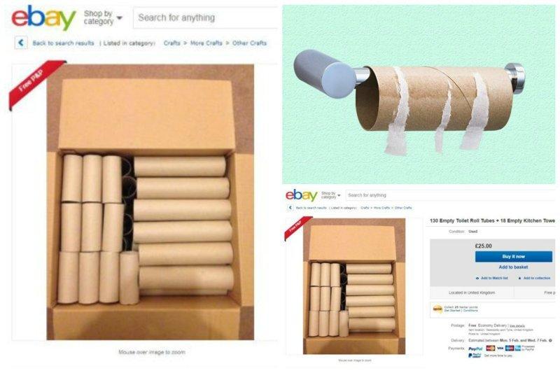 Как сколотить состояние на втулках от туалетной бумаги: стартап от британцев (17фото)