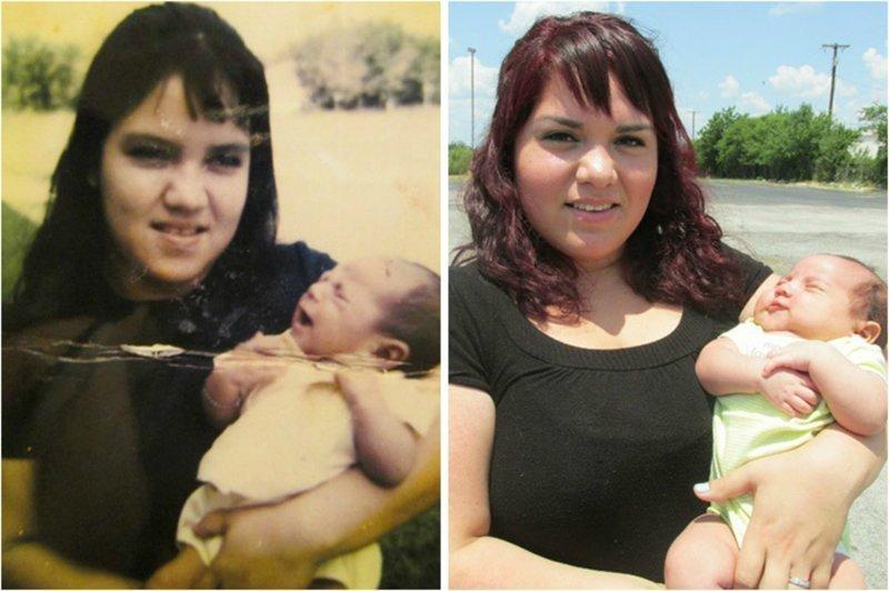 Чудеса генетики: 25 фото, показывающих удивительное сходство между родственниками (26фото)
