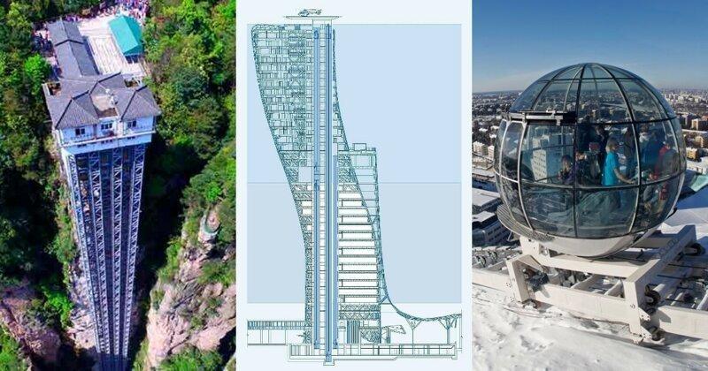 Архитектурные рекорды: выше, тяжелее, невероятнее! (15фото+3видео)