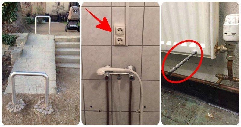 20 работ горе-строителей, которые демонстрируют их вопиющую некомпетентность (21фото)