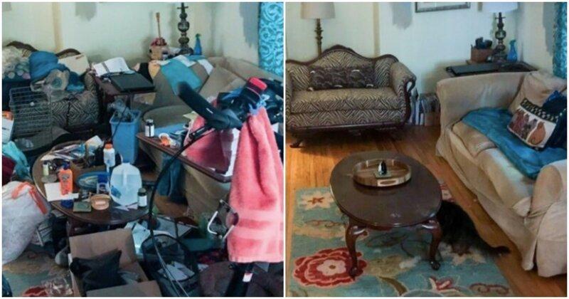 18 вдохновляющих кадров до и после, которые воодушевят на генеральную уборку в квартире (19фото)