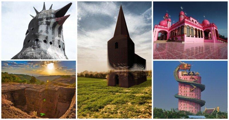 Боги в шоке: церкви удивляющие не только прихожан (32фото)