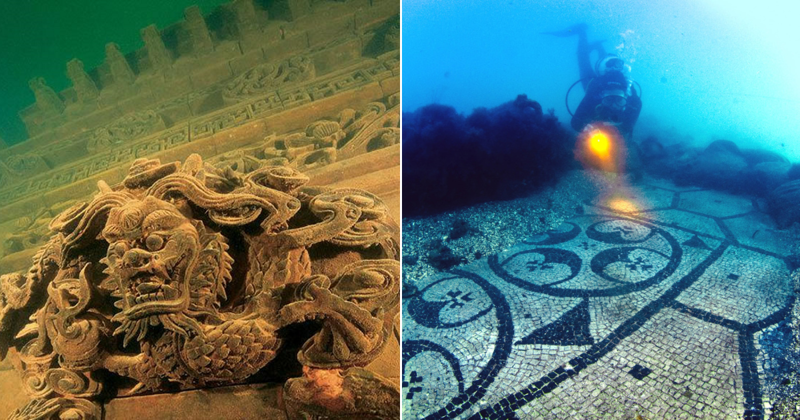 10 таинственных городов, которые исчезли под водой (14фото)