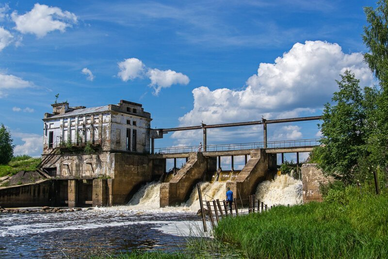 Мощь и обаяние российских ГЭС (50фото)