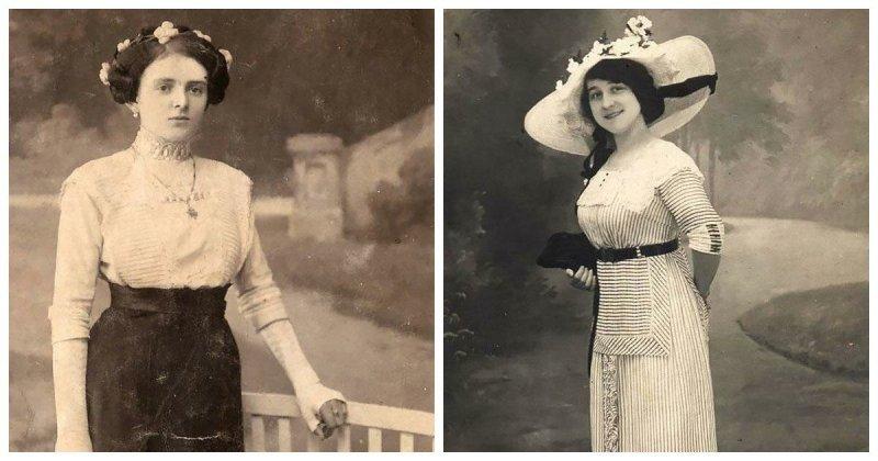 Фотографии элегантных модниц эдвардианской эпохи, снятых в начале 1900-х годов (26фото)