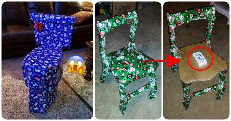 Догадаетесь, что там? 15 замаскированных подарков, оригинальная упаковка которых ломает мозг (16фото+1видео)