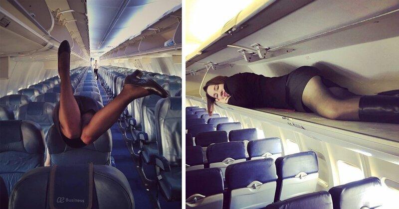 Тайный обряд: что делают стюардессы перед взлетом (30фото)